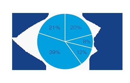 Revenue in 2014 by Region